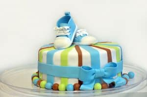Gâteau de baby shower